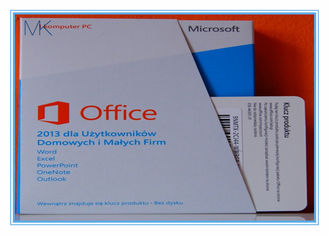 Genuine Key 32 & 64 Bits DVD MMicrosoft Office 2013 Retail Box Professional Software