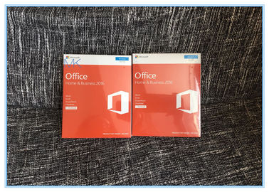 Genuine Sealed Box Microsoft Office Home and business 2016 FPP Product Key